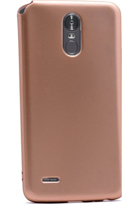 Gpack LG Stylus 3 Kılıf Premier Yumuşak Silikon Case +Kalem+Cam