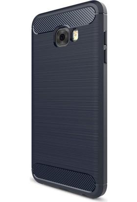 Gpack Samsung Galaxy C7 Pro Kılıf Room Tarz Silikon Case +Cam