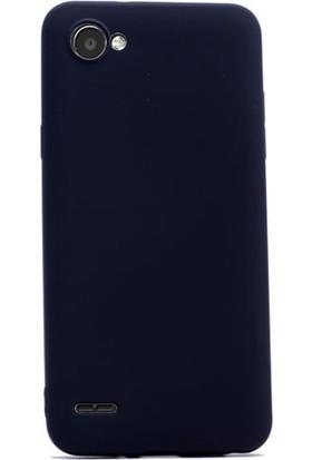 Gpack LG Q6 Kılıf Premier Silikon Yumuşak Doku Case +Kalem + Cam