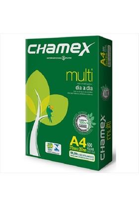 Chamex A4 Fotokopi Kağıdı 80 gr. 5 Paket 1 Koli 2500 Ad.