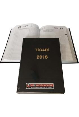 Gürpaş 17x25 cm Ticari Ajanda 2018