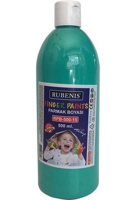 Rubenis Parmak Boyası 500 ml. Yeşil RPB-500-15