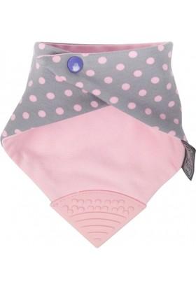Cheeky Chompers Polka Dot Pink