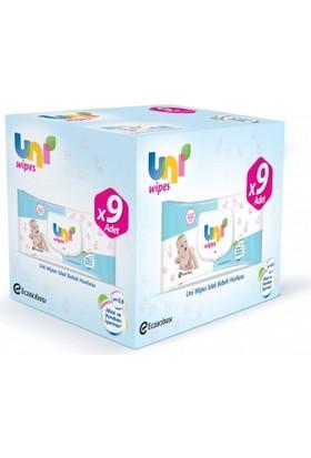 Uni Baby Wipes Islak Havlu 9'lu Paket / 540 Yaprak