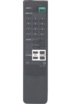 Sony Rm 687C TV Kumandası