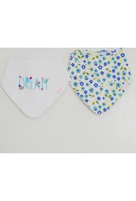 İdil Baby 9773 2'li Bebek Fular Mama Önlüğü
