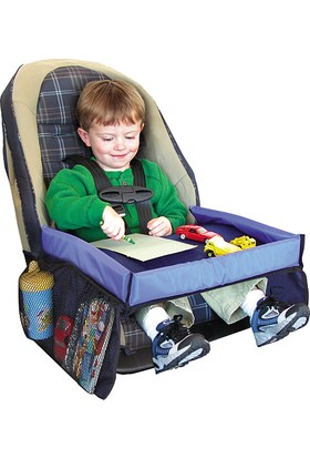 Pratik Çocuk Oto Koltuk Sehpası - Kids Play Travel Tray