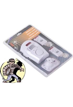 Pratik Hareket Sensörlü Alarm Seti (2 Adet Uzaktan Kumandalı)