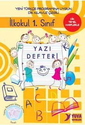 Yuva İlkokul 1. Sınıf Yazı Defteri-Dik Temel Harflerle