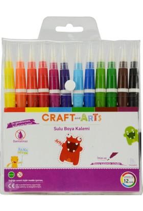 Craft And Arts Sulu Boya Kalemi 12 Renk