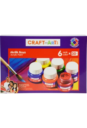 Craft And Arts Akrilik Boya 6x30ml
