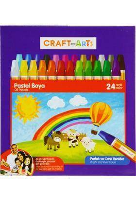 Craft And Arts Pastel Boya 24'lü Karton Kutu