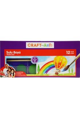 Craft And Arts Sulu Boya 12 Renk 23Mm Çap