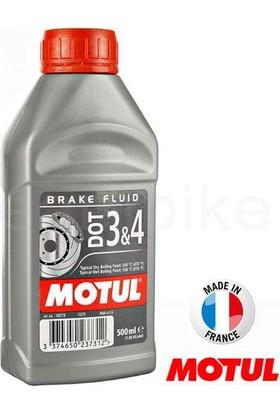 Motul Dot 3&4 %100 Sentetik Fren Hidroliği 500 Ml.