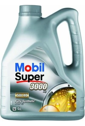 Mobil Super™ 3000 X1 5W-40 Motor Yağı (4Lt)