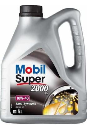 Mobil Super™ 2000 X1 10W-40 Dizel Motor Yağı (4Lt)