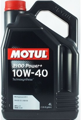 Motul 2100 Power+ 10W40 4 Litre Motor Yağı