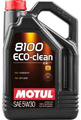 Motul 8100 Eco-Clean 5W30 5 Litre Motor Yağı