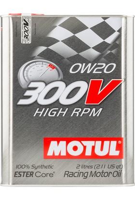 Motul 300V High Rpm 0W20 2 Litre Motor Yağı