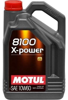 Motul 8100 X-Power 10W-60 4 Litre Motor Yağı