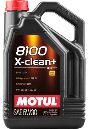 Motul 8100 X-Clean + 5W30 5 Litre Motor Yağı