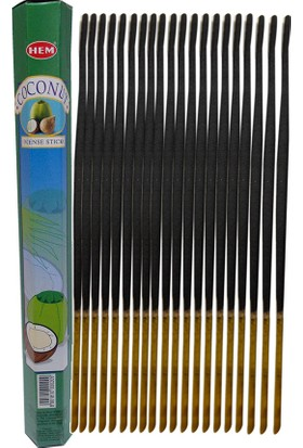 Hem Hindistan Cevizi Çubuk Tütsü 20li (Coconut)