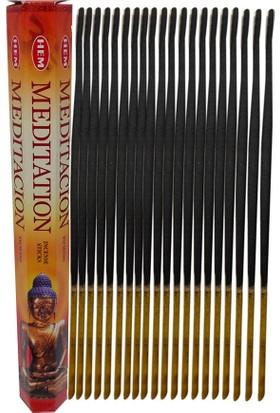 Meditasyon Tütsü - Meditation Incense Sticks 20li