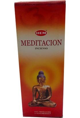 Hem Tütsü Meditasyon Tütsü - Meditation Incense Sticks 20li