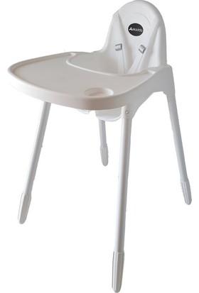 Dukaddo Pratik Mama Sandalyesi Beyaz Bj-D028