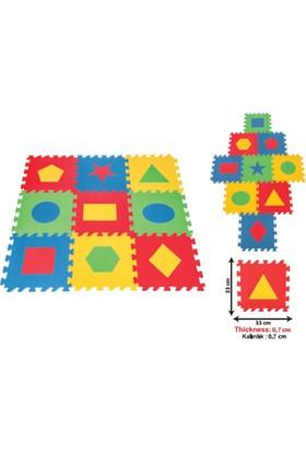 Pilsan Eğitici Yer Karosu Geometrik Şekiller 7 mm Bj-2103472 - 7