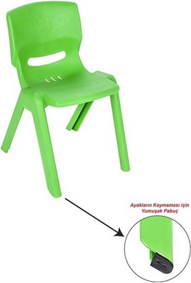 Pilsan Happy Sandalye Yeşil Bj-2103461Y