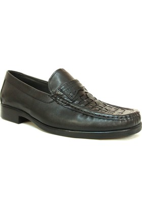 Fierro 054 Siyah Bağcıksız Comfort Erkek Ayakkabı