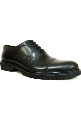 Tozkoparan 594 Siyah Bağcıklı Erkek Ayakkabı