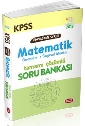 Data Kpss İnovasyon Serisi Matematik Tamamı Çözümlü Soru Bankası