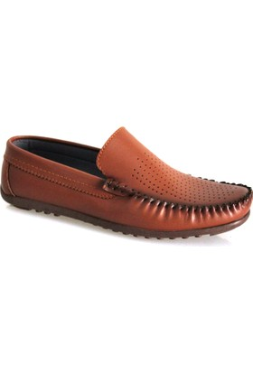 Gnc Taba Deri Erkek Günlük Ayakkabı