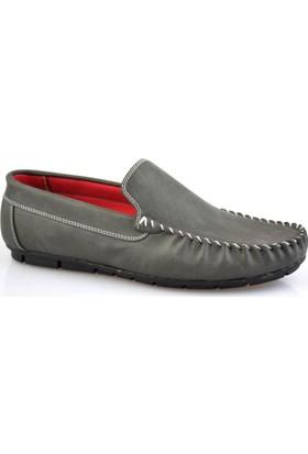 Altıntaş Gri Deri Erkek Günlük Ayakkabı