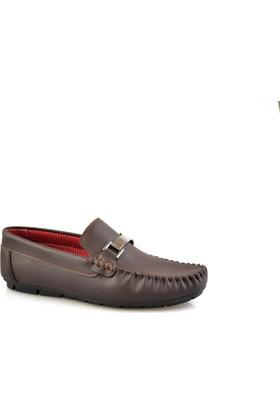 Altıntaş Kahverengi Deri Erkek Günlük Ayakkabı