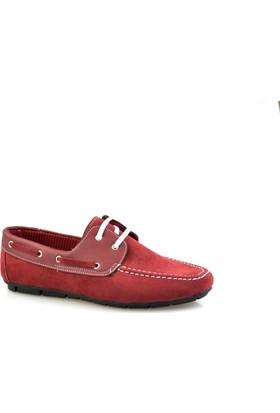 Altıntaş Bordo Süet Erkek Günlük Ayakkabı