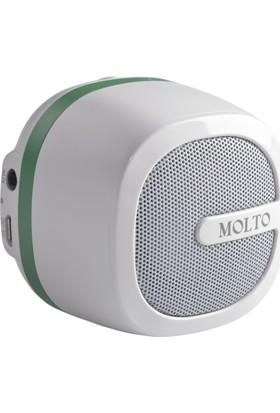 Molto Taşınabilir Bluetooth Hoparlör-Yeşil
