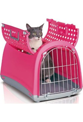 Imac Linus Cabrio Kedi Köpek Taşıma Çantası Pembe