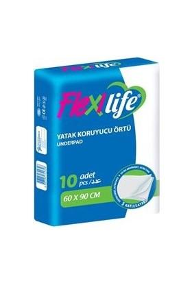 Flexi Life Yatak Koruyucu Örtü 60X90 Cm 10 Adet
