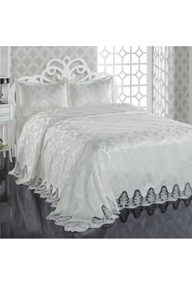Derya Home Yatak Örtüsü - Hira Krem