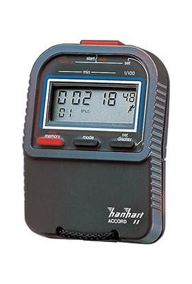 Dijital Kronometre, Tek Göstergeli 1/100-Min. Hanhart