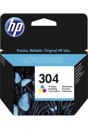 HP 304 Üç Renkli Mürekkep Kartuşu N9K05AE