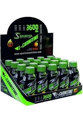 Sportica Nutrition L-Carnitine Yağ Yakıcı 3600 Mg 20 Ampul