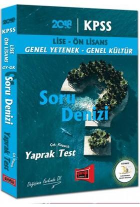 Yargı Yayınları 2018 Kpss Lise Ön Lisans Gy Gk Soru Denizi Çek Kopartlı Yaprak Test