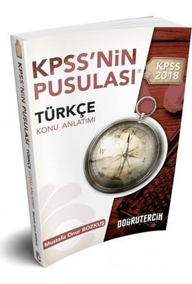 2018 Kpss Nin Pusulası Türkçe Konu Anlatımı Doğru Tercih Yayınları