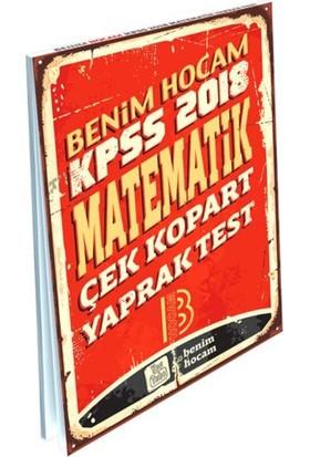 2018 Kpss Matematik Çek Kopart Yaprak Test Benim Hocam Yayınları
