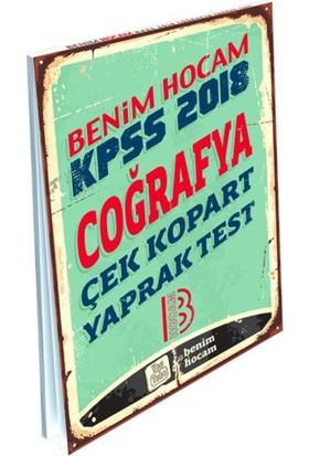 2018 Kpss Coğrafya Çek Kopart Yaprak Test Benim Hocam Yayınları