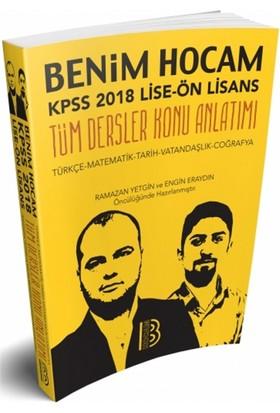 2018 Kpss Lise Ön Lisans Genel Kültür Genel Yetenek Tek Kitap Konu Benim Hocam Yayınları